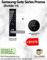 Samsung SHP-DS705 + Hafele EL8000 (Bundle 14) Digital Door Lock