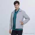 ROBERTA諾貝達 簡約百搭 絨面內裡夾克外套 灰色