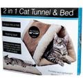 WMU 2 In 1 อุโมงค์แมว & เตียงความร้อนชั้น