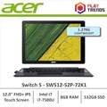 Acer Switch 5 (SW512-52-72K1) 12 FHD+ IPS Touch Laptop