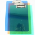 A4壓克力板夾 LM-2005 亮美A4板夾(直式.透明)/一個入{定60}~MIT製 23cm x 32cm