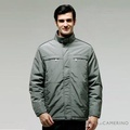 ROBERTA諾貝達 台灣製 超值嚴選 內裡舖棉夾克外套 ROT58-49灰綠