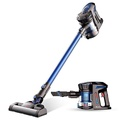 Proscenic P8 Cordless Stick Vacuum Cleaner 2 in 1 Lightweight Cordless Vacuum Battery Rechargeable Two Speeds 7Kpa Suction Power Detachable Bagless Handheld Vacuum for Family & Car Cleaning