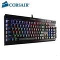 海盜船Corsair K70 LUX RGB 電競機械式鍵盤-紅軸中文/Cherry軸/RGB背光/大字體鍵帽/USB擴充/2年保【福利品出清】