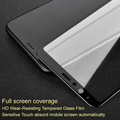 Imak Pro+ Screen Protector for Samsung Galaxy A9 Star Full Coverage Tempered Glass G8850 for Samsung A8 Star Full Glue Absord Auto