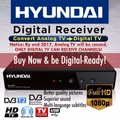 Digital TV Box Set Top Box DVB-T2 Receiver with Free DVB-T2 Antenna and HDMI Cable - Designed For Singapore Mediacorp Channels