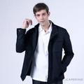 ROBERTA諾貝達 台灣製 率性簡約 輕薄休閒夾克外套 深藍