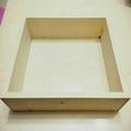 固定式蜂蜜蛋糕木框<3條量>**無上漆**