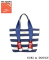[mis zapatos]  Border Sneakers Canvas Totebag