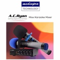 Ac Ryan MIXX - Karaoke Mixer with 2 Wireless Microphones - Input Sources: Bluetooth or Aux
