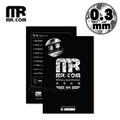 【贈9H玻璃背貼】Mr.com iPhone X 軍規防爆3D立體滿版康寧玻璃保護貼0.3mm