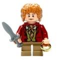 Lego 樂高 魔戒 人偶 比爾博巴金斯 原配劍+魔戒