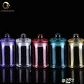 糖罐子 彩色玻璃小罐子(6支裝)