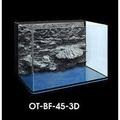 OT-BF-45-3D 微笑的魚水族☆台灣UP-雅柏【ㄇ型套缸(背部過濾+濾材+馬達) 1.5尺(3D立體岩板)】