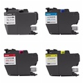 BRT Genuine Brother LC3029 (LC-3029) (BK/C/M/Y) Super High Yield Color Ink 4-Pack (Includes 1 each L