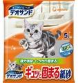 &米寶寵舖$ 日本 UNICHARM 嬌聯 消臭大師消臭紙砂 (無香) 5L 貓砂 貓沙