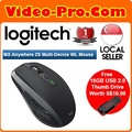 [Free 16GB Thumb Drive] Logitech MX Anywhere 2S Wireless Mouse 910-005156