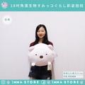 正版【角落生物】SAN-X娃娃 抱枕 柔軟 18吋 雪白熊 北極熊  IMMA-STORE 溫暖好物 生日 交換禮物