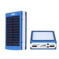 IBESTWIN Solar Charger 30000mah 20 LED Camp Light Portable Power Bank