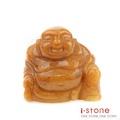 【石頭記】 老黃玉彌勒佛-3cm(B)