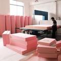 高密度海綿墊定做加厚加硬沙發墊布藝坐墊實木紅木飄窗墊坐椅墊子 【無優創意百貨】