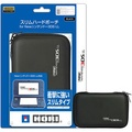 NEW 3DSLL通用 HORI 超薄型輕量化 EVA 主機硬殼包 裝主機殼可收納 黑色 3DS-422