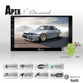APEX 安卓7吋汽車音響主機 2-DIN USB/SD/AUX/藍芽/ 支援倒車影像 搭配正版導航王系統