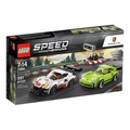 LEGO 樂高 Speed Champions Porsche 911 RSR and 911 Turbo 3.0 75888 (391 Piece)