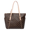 Louis Vuitton 新款 M56689 TOTALLY MM 經典格紋肩背包中