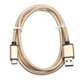USB 3.1 Type C Orbital Braided Charging Data Cable 3.33ft/1m for Xiaomi 5 Huawei