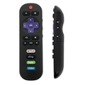 IKU RTV05 Standard IR Replacement Remote for ROKU TV with 4 Shortcut Channels (IR Remote, TCL Roku TV) , IR Remote - TCL Roku TV