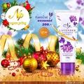 +ครีมกันแดดน้ำแร่ 2 หลอด ล๊อตใหม่ฝาสีม่วง  ส่งไวที่สุดในโลก แถมซองกันน้ำคละลาย 1 ใบ มูลค่า 39 บาท !!!ของแท้ ถ้าไม่แท้ยินดีคืนเงิน1000 บาท !!! Lavender By.งามพริ้ง (NgamPring) SPF 50 PA+++ ขนาด 100 กรัม(2หลอด)