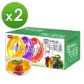 【盛香珍】零卡小果凍量販箱6kgx2箱入(每箱約220顆果凍 3口味)