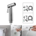 Stainless Steel Handheld Bidet Spray Shower Head Shattaf Toilet Adapter Hose Kit US