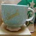 全新Starbucks星巴克咖啡杯/馬克杯/新骨瓷杯/寬口杯