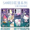 【Hello Kitty】華為 HUAWEI P20 Pro 花漾系列 氣墊空壓 手機殼