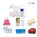 Spectra - 9 Plus Double Electric Breast Pump Package
