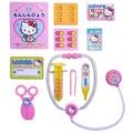 日本 sanrio Hello Kitty 手提醫生玩具 醫護遊戲組(3190)-2款色隨機出貨