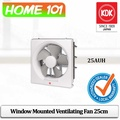 KDK Window Mounted Ventilating Fan 25cm 25AUH (Residential Use)
