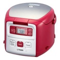 Tiger Mini Rice Cooker JAI-G55S 3 Cups (Ruby Red)