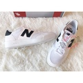 New Balance CRT300 黑白 白 白底黑N 白色 反光 熊貓 帆布鞋 CRT300GH