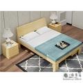 一件免運 紐西蘭松木全實木雙人床 1.8米主臥現代簡約雙人1.5木床1.2m單人成人出租房經濟床架 單人床 實拍 促銷