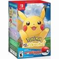Nintendo Switch lets go pokemon Pikachu/Eevee + Pokeball Plus Bundle [16th Nov Release]