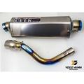 【優購愛馬】OVER Racing TT 排氣管 進口管 鈦合金 全段 白鐵 觸媒 消音塞 FORCE SMAX MSX