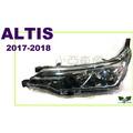 小亞車燈改裝*全新 Altis 11.5代 17 18 2017 2018 年 原廠型 大燈 一顆3700 車燈