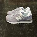 new balance nb 574 WL574ESV 紫色 芋頭紫 薰衣草紫 經典款 麂皮 網布 質感 慢跑鞋