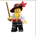 必買站 LEGO人偶 COL12-13 樂高人偶抽抽包系列 Swashbuckler 71007_13