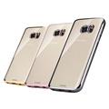 【XUNDD】SAMSUNG Galaxy S7 Edge G935F 爵士電鍍 TPU 套