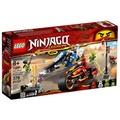 樂高積木 LEGO《 LT70667 》 NINJAGO 旋風忍者系列 - 赤地的刀鋒轉輪車及冰忍的雪地摩托車