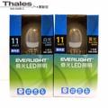 【泰利斯】億光 LED燈11W 全電壓 廣角度 CNS認證燈泡 白光 黃光